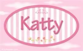 Katty, nombre para niñas