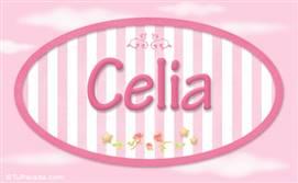 Celia, nombre para niñas