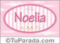 Noelia, nombre para niñas