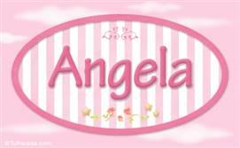 Angela, nombre para niñas