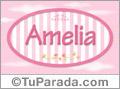 Amelia, nombre para niñas