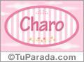 Charo, nombre para niñas