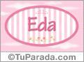 Eda, nombre para niñas