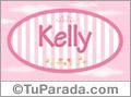 Nombre Nombre Kelly de bebé, para imprimir