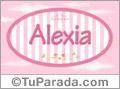 Alexia, nombre para niñas