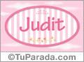 Judit, nombre para niñas