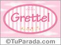 Grettel, nombre para niñas
