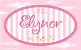 Elynor, nombre para niñas