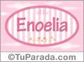 Enoelia, nombre para niñas