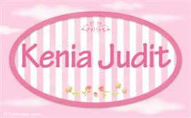 Kenia Juditl, nombre de niña