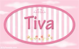 Tiva, nombre de bebé de niña