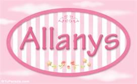 Allanys, nombre de bebé de niña