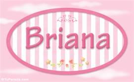 Briana, nombre de bebé de niña