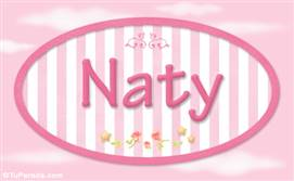 Naty, nombre de bebé de niña