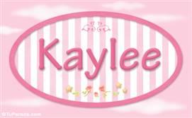 Kaylee, nombre de bebé de niña