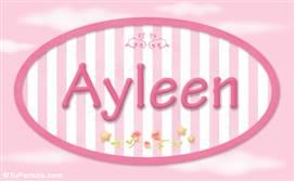 Ayleen, nombre de bebé de niña