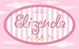 Elizenda, nombre de bebé de niña