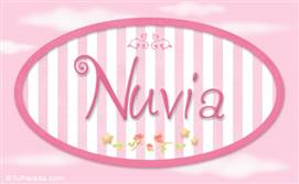 Nuvia, nombre de bebé de niña