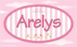 Arelys, nombre de bebé de niña