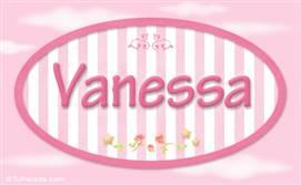 Vanessa, nombre de bebé de niña