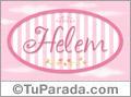 Helem, nombre de bebé de niña