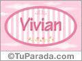 Vivian, nombre de bebé de niña