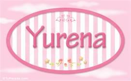 Yurena, nombre de bebé de niña