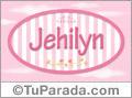 Jehilyn, nombre de bebé de niña