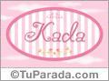 Kada, nombre de bebé de niña