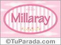 Millaray, nombre de bebé de niña