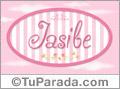 Jasibe, nombre de bebé de niña