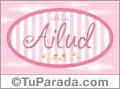 Ailud, nombre de bebé de niña