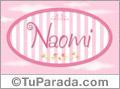 Naomi, nombre de bebé de niña
