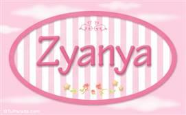 Zyanya, nombre de bebé de niña