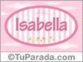 Isabella, nombre de bebé de niña