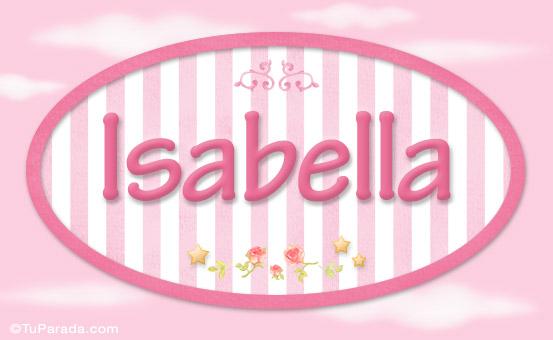 Isabella, nombre de bebé de niña - Niñas - Nombres