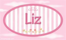 Liz, nombre de bebé de niña