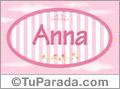 Anna, nombre de bebé de niña