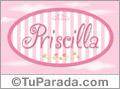 Priscilla, nombre de bebé de niña
