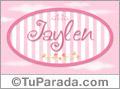 Jaylen, nombre de bebé de niña
