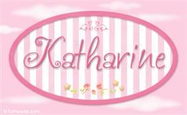 Katharine, nombre de bebé de niña
