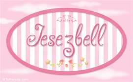 Jesezbell, nombre de bebé de niña