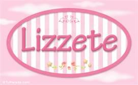 Lizzete, nombre de bebé de niña