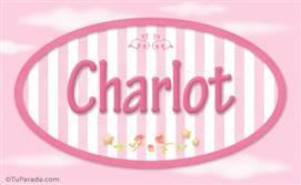 Charlot, nombre de bebé de niña