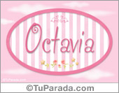 Octavia, nombre de bebé de niña