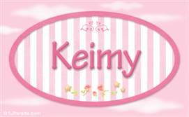 Keimy, nombre de bebé de niña