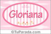 Gloriana, nombre de bebé de niña