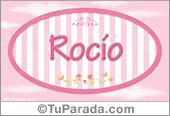 Rocío, nombre de bebé de niña