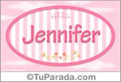 Jennifer, nombre de bebé de niña