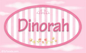 Dinorah, nombre de bebé de niña